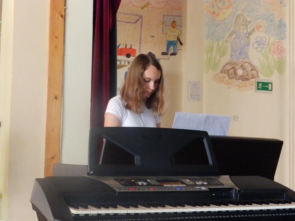 Adéla Radvanová - koncert ZUŠ