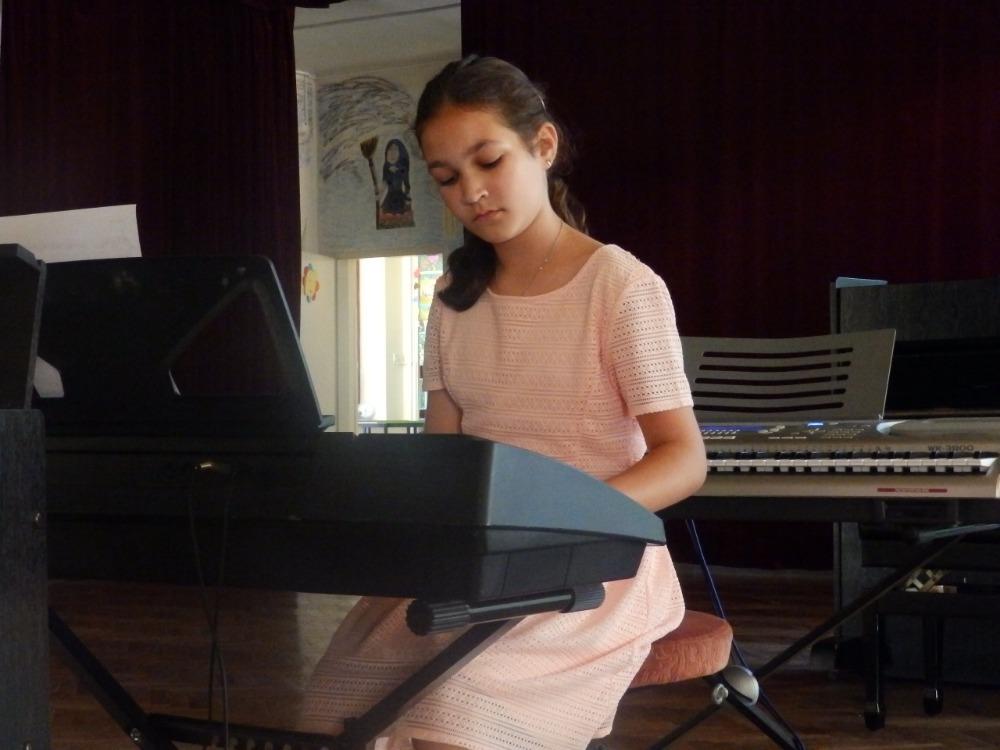 Magda Pavlovcová - koncert ZUŠ