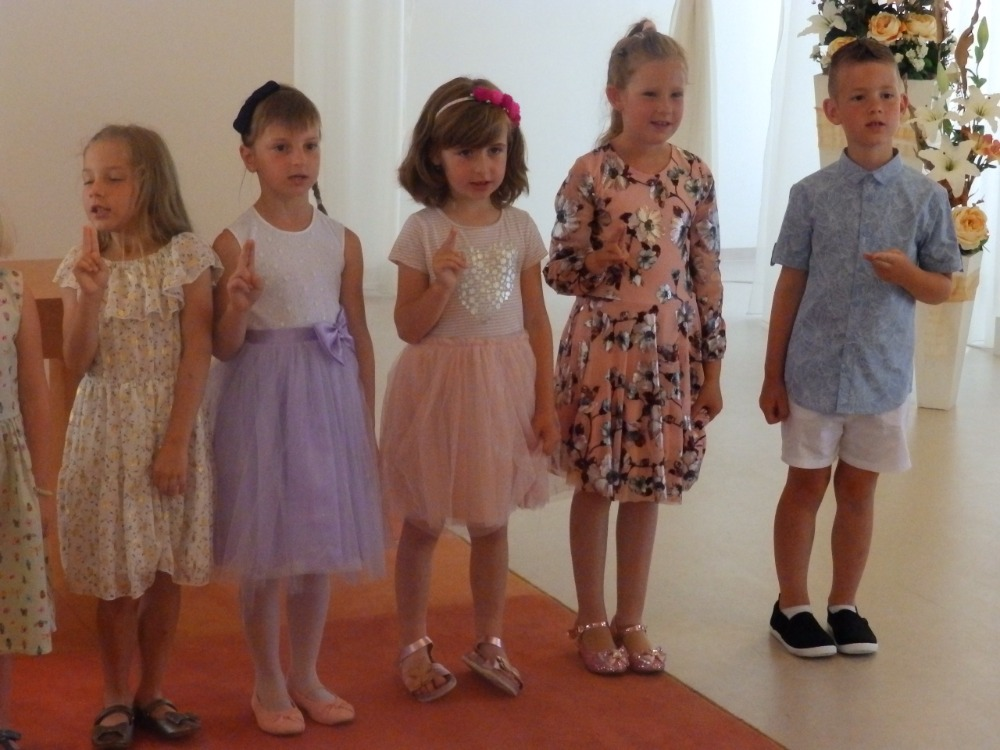 Slib předškoláků na OÚ - 2