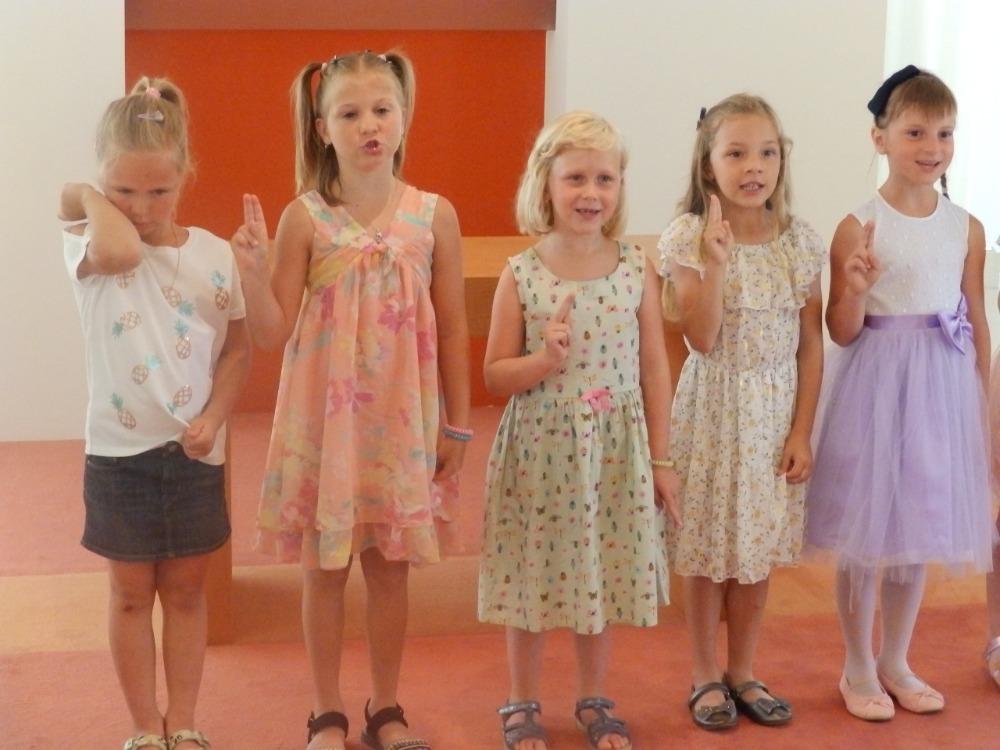 Slib předškoláků na OÚ