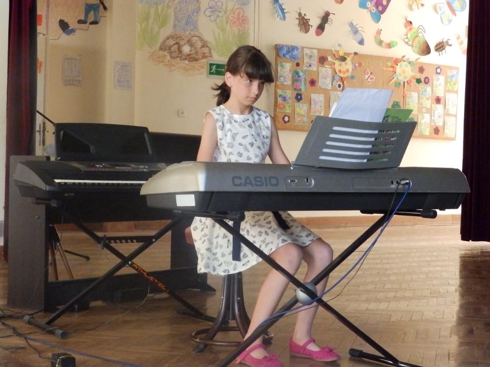 Vanda Svobodová - koncert ZUŠ